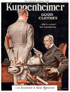Kuppenheimer Good Clothes (Joseph Christian Leyendecker) advertisement