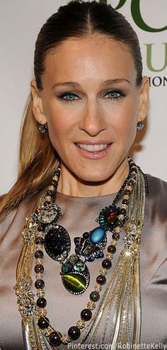 Sarah Jessica Parker | Statement Necklace.