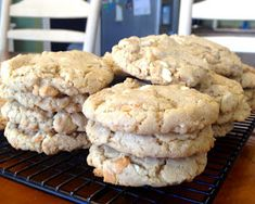 Becoming Betty: Butterscotch White Chocolate Oatmeal Cookies
