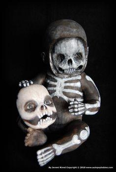 """Skullen"" 2010 Halloween Autopsy Baby by Miscreation Art: www.autopsybabies..."