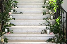 20: LED Candles for Stairs or down ceremony aisle