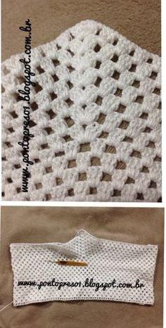 Ponto Preso1: Croche - Um SHORT simples com bom caimento...