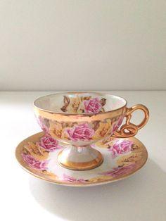 Vintage Royal Sealey Footed Fine Porcelain by MariasFarmhouse, $28.00