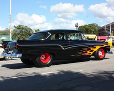 More Vintage Cars Hot Rods and Kustoms More Vintage Cars Hot Rods and Kustoms Kustomblr Kustom Kulture Hot Rod Vintage Car Classic Car Antique Car Kustom HotRod Custom Car Rat Rods, Cool Old Cars, Mercury Cars, Classic Hot Rod, Ford Classic Cars, Old Fords, Ford Fairlane, Sweet Cars, Us Cars