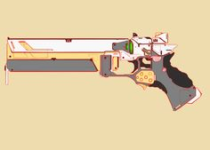 ArtStation - Weapon sketches, Lei Zhang
