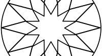 Mandalas de estrellas para trabajar la creatividad y la atención tdah + aplicación móvil y tablet Symbols, Peace, Adhd, Sacred Geometry, Note Cards, Notebooks, Sobriety, Glyphs, World