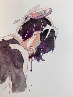 Manga Anime, Anime Demon, Demon Slayer, Slayer Anime, Anime Art Girl, Aesthetic Anime, Doujinshi, Amazing Art, Fanart