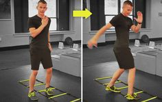 Sizzle your six-pack with the hip switch