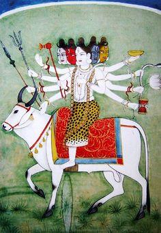 Panchamukhi Shiva (via anavrita.ru)