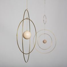GO TO SHOP Galaxy Globe is a collection of eloquent mobiles, made from light brass rings that slowly move around each other with a marble sphere in the center, resembling… Rose Vintage, Vintage Rosen, Mobiles, Quilt Inspiration, Kenzo World, Kenzo Parfum, Gold Aesthetic, Aesthetic Galaxy, Baby Mobile