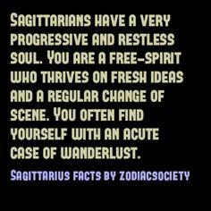 Sagittarius Facts... Definitely me!
