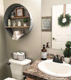 Farmhouse bathroom/Master Bath