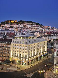 Hotel Mundial and st George, Lisboa - Portugal Visit Portugal, Spain And Portugal, Portugal Travel, Funchal, Cool Places To Visit, Places To Travel, Travel Destinations, Lisbon Hotel, Bilbao
