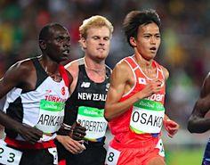 力走する大迫 :フォトニュース - リオ五輪・パラリンピック 2016:時事ドットコム