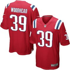 9b1b7c55c Danny Woodhead  39 Jersey - Youth New England Patriots Elite Alternate  Red 79.99 Malcom Brown