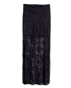 What to Pack: Your Coachella Festival Fashion & Beauty Guide - H&M Lace Maxi Skirt from #InStyle