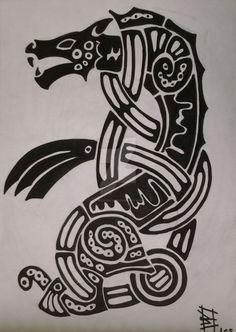 Image result for fenrir tattoo