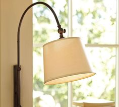 Reading nook sconce (plug-in) @ Pottery Barn