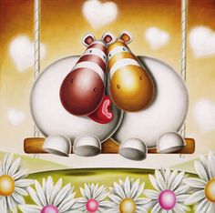 Image Detail for - artist peter smith title love seat medium giclee on paper edition ...