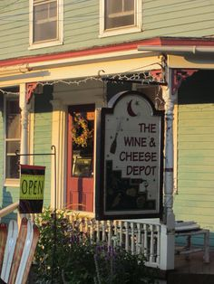 The Wine and Cheese Depot in Ludlow, VT