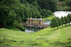 Prior Park Landscape Gardens, Bath, Somerset, UK