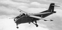 """The Hunting H.126 (1963) was a British experimental aircraft designed and built by Hunting Aircraft in order to test the concept of blown flaps, or as they were known in Britain, """"jet flaps"""". Only one aircraft was built, being flown in a series of one hundred test flights at the Royal Aircraft Establishment's Aerodynamics Flight at RAE Bedford. First flight 26 March 1963"""