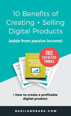 Digital products can contribute so much to your online business, aside from passive income. The benefits of running a digital product shop f. Home Based Business, Business Tips, Online Business, Business Essentials, Business Quotes, Business Opportunities, Creative Business, Make Money Online, How To Make Money