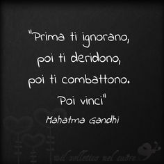 GIPHY is how you search, share, discover, and create GIFs. Cogito Ergo Sum, Italian Phrases, Wise People, Deep Truths, Inspirational Phrases, Gandhi, Business Quotes, Love Life, Wise Words