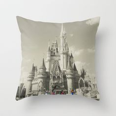 Walt Disney World Throw Pillow by Abigail Ann - $20.00