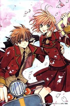 Syaoran & Sakura | Tsubasa Reservoir Chronicle #illustration #anime #manga