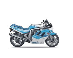 Racing Cafè: Motorcycle Art - Suzuki GSX-R 750 1990