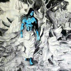 Shiva is love, Shakti is life. Where there is love, there is life 😂 💜💋 Shiva Shakti, Wicca, Shiva Angry, Lord Mahadev, Lord Shiva Painting, Shiva Wallpaper, Spiritus, Hindu Deities, Hindu Art