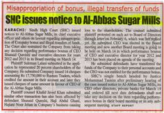 Illegal Funds transfer caused heavy losses to Shareholders