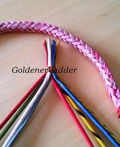 nyolcasfonás fül Плетение из газетных трубочек: Колосок, ручка, декоративный элемент.