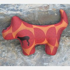 Dog Pillow Red now featured on Fab.
