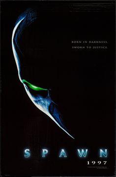Spawn - movie poster - Very Fine+ (8.5)