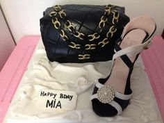 - Chanel bag and loubouting shoes