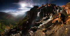 Pančavský vodopád – najwyższy wodospad w całych Sudetach, jest jednocześnie bajecznym punktem widokowym na cały obszar Sedmidoli, Karkonosze; droga  Labská Bouda – Pančavský vodopád – Harrachovy kameny