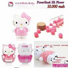 #powerbank #hellokitty #flower 10.000mah @ 255.000