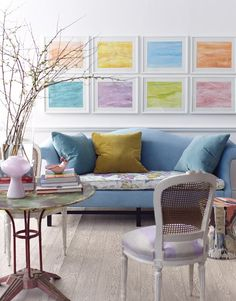 This time we researched pastel room décor ideas for nearly any room of your house. These pastel room décor ideas include from sofas to pillows, linens, and furniture. Pastel Room Decor, Pastel Living Room, My Living Room, Home And Living, Living Room Decor, Living Spaces, Simple Living, Dining Room, Interior Exterior