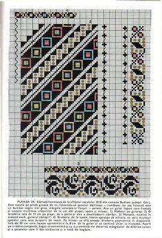 Cross stitching , Etamin and crafts: Traditional cross stitch Pattern Folk Embroidery, Cross Stitch Embroidery, Embroidery Patterns, Ribbon Embroidery, Cross Stitch Designs, Cross Stitch Patterns, Cross Stitch Floss, Palestinian Embroidery, Tapestry Crochet