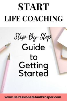 Life coaching business as a side hustle- how to get started - Be Passionate and Prosper - - Tired of working for someone else? Learn how you can easily get started with setting up a life coaching business as a side hustle. Get tips to start today! Coaching Personal, Life Coaching Tools, Online Coaching, Confidence Coaching, Personal Trainer, Personal Life Coach, Leadership Coaching, Personal Finance, Life Coaching Courses