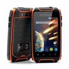 "This ""Asteroid"" 3.5 Inch Rugged Waterproof, Shockproof and Dustproof Rugged Android Phone. Surviving even in the most extreme conditions, this phone won't let you down! Shopswagstore.com"