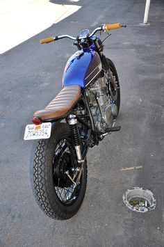 1974 Yamaha TX500 tracker custom bike