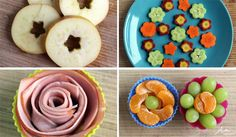 Cute floral ideas for kids lunches - the kind of stuff you can actually do without a culinary degree   AlphaMom