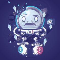 Discovery or Death by Jared Nickerson, via Behance