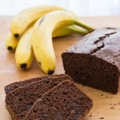 Chocolate Banana Bread http://www.foodily.com/r/09589206b9-chocolate-banana-bread-by-no-recipes?