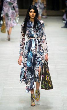 Burberry - Fall-Winter 2014-2015 London Fashion Week