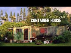 Tropical Shipping Container House Tour   Tiny Home Hawaii Style