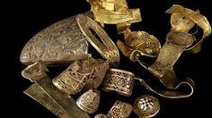 Největší zlatý anglosaský poklad